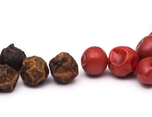 Červené verzus ružové korenie